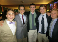 Brothers in the card room during the 2012 Fall Formal